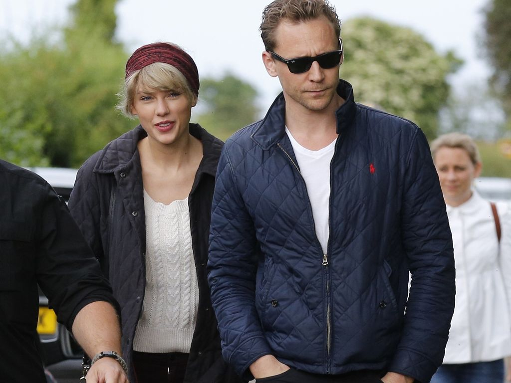 Taylor Swift und Tom Hiddleston in England