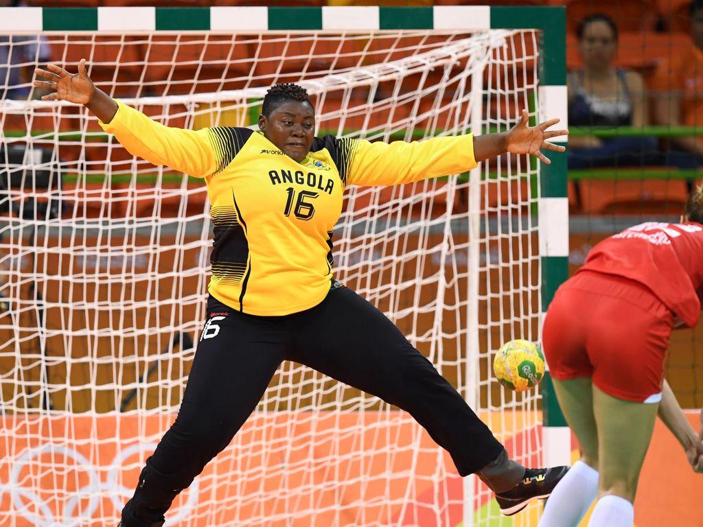 Angolas Handballerin Teresa Almeida