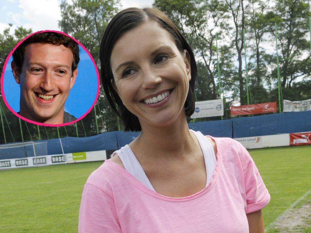 Mark Zuckerberg und Teresa Enke