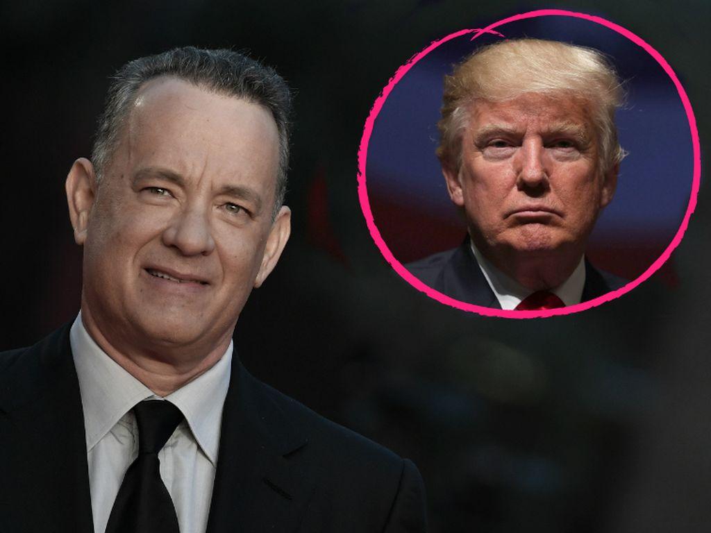 Tom Hanks und Donald Trump