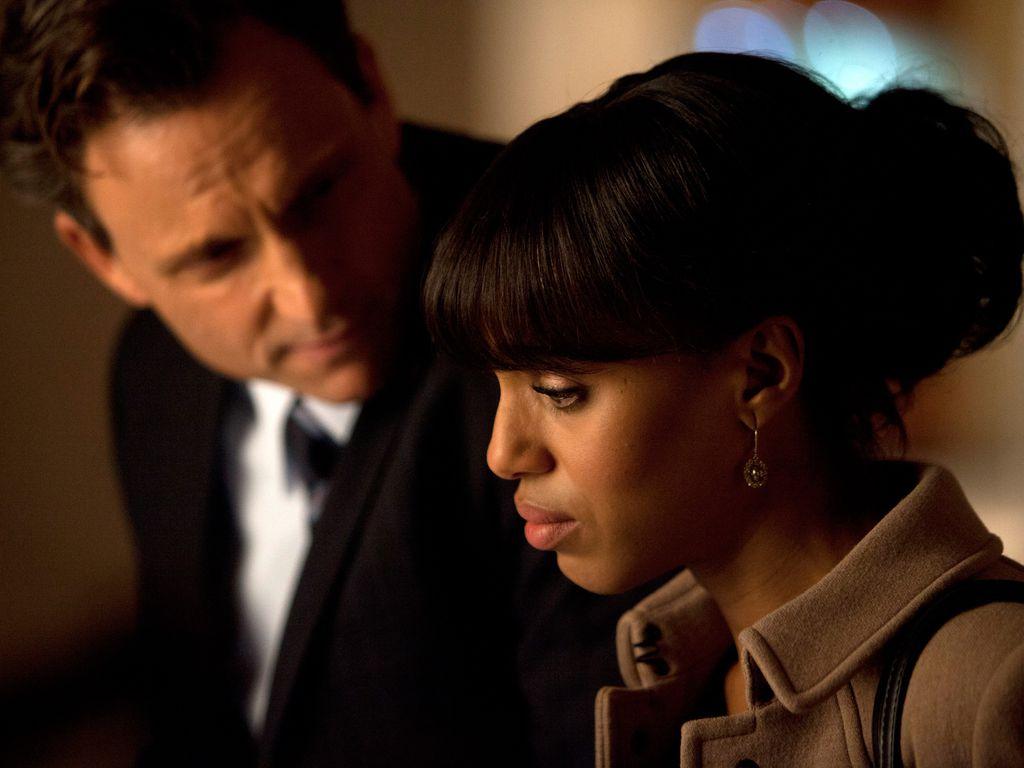 """Tony Goldwyn und Kerry Washington in """"Scandal"""""""