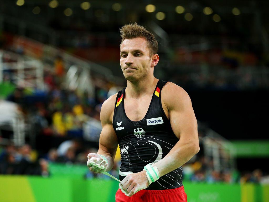 Turner Andreas Bretschneider bei den Olympischen Spielen 2016