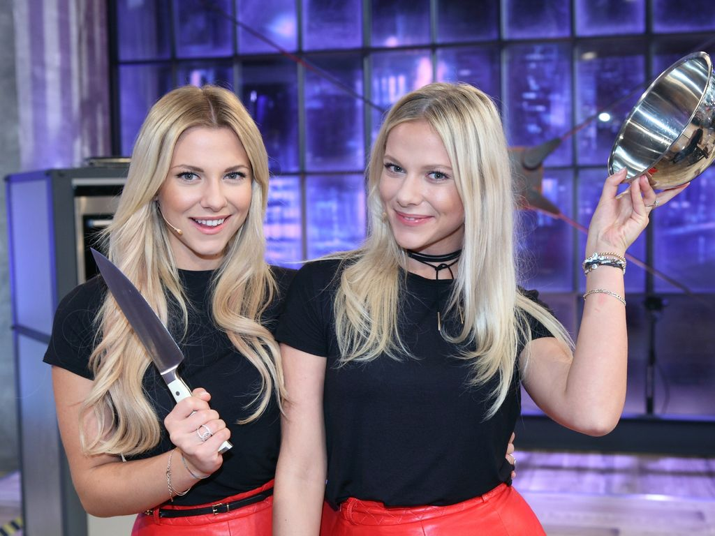 Zwillingsschwestern Valentina und Cheyenne Pahde