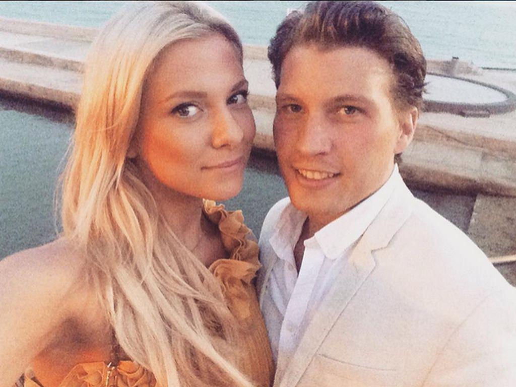 Valentina Pahde und Raúl Richter im Urlaub