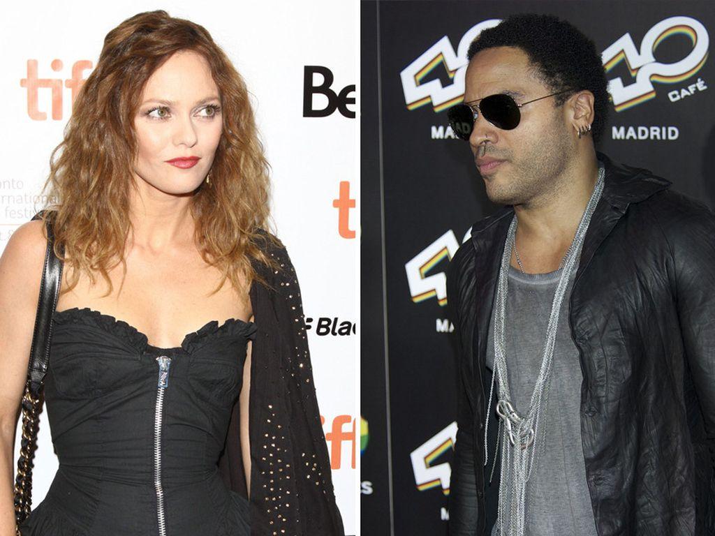 Lenny Kravitz und Vanessa Paradis