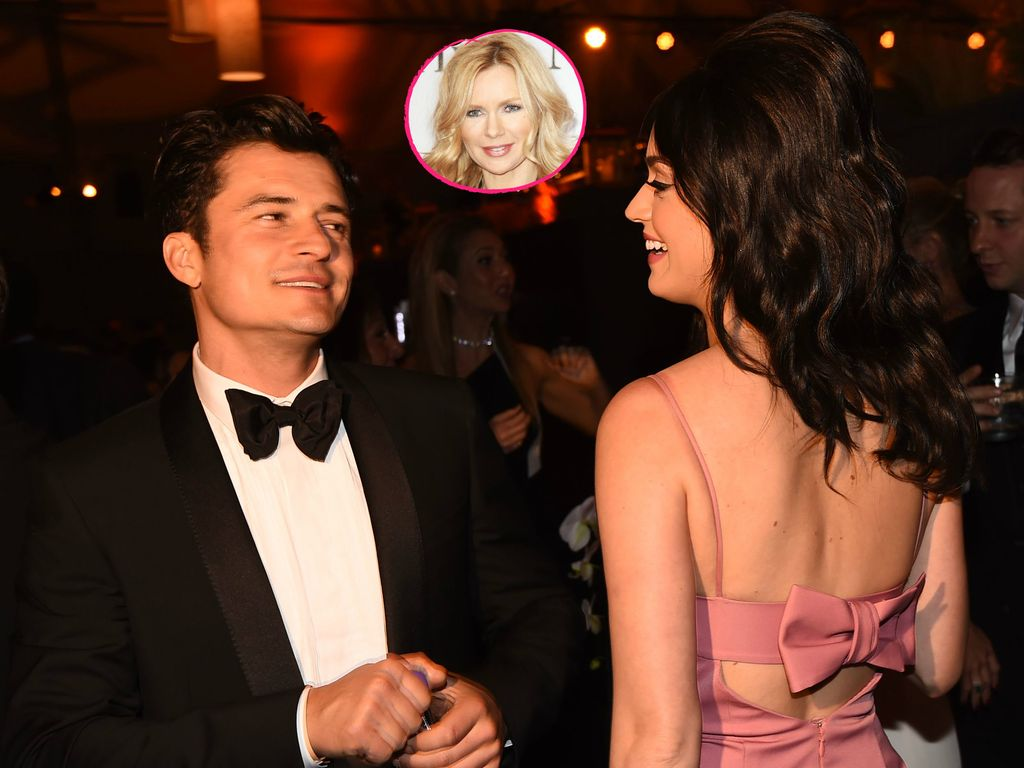 Orlando Bloom, Veronica Ferres, Katy Perry