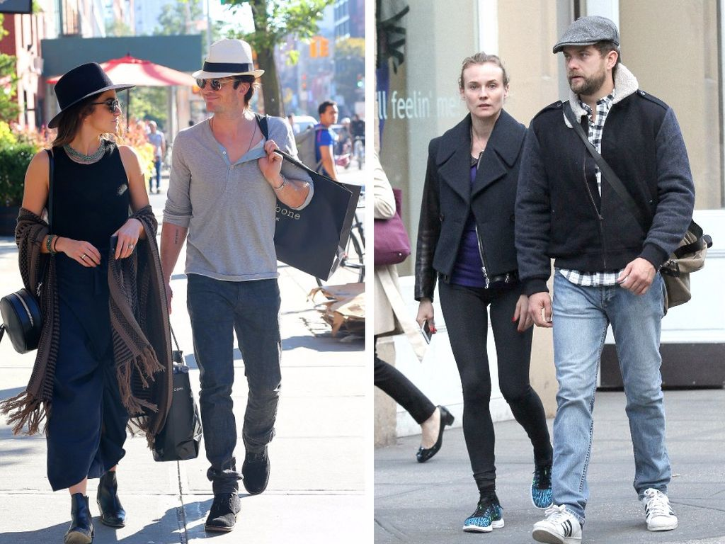 Ian Somerhalder, Nikki Reed, Diane Kruger und Joshua Jackson