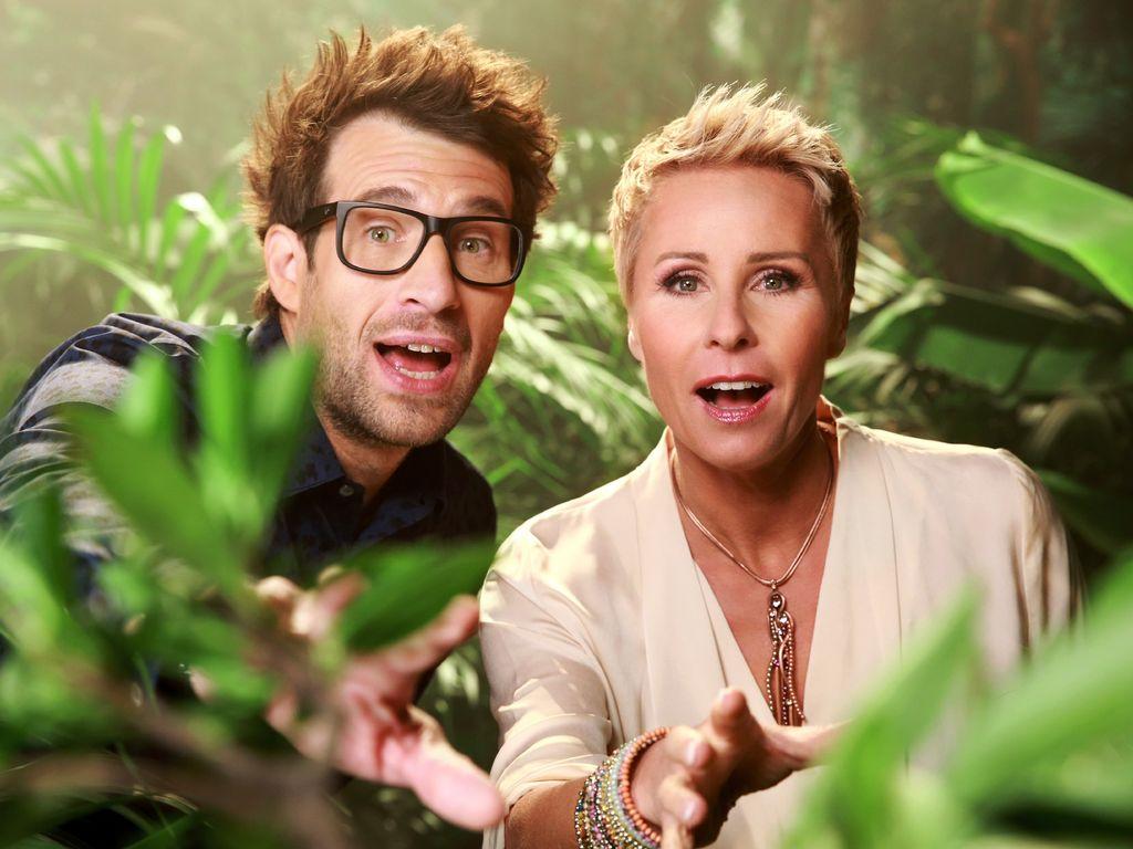 Daniel Hartwich und Sonja Zietlow beim Dschungelcamp