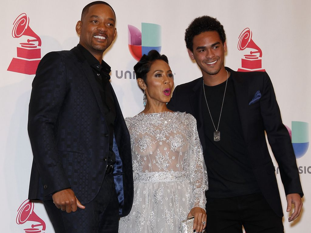 Will Smith, Jada Pinkett-Smith und Trey Smith