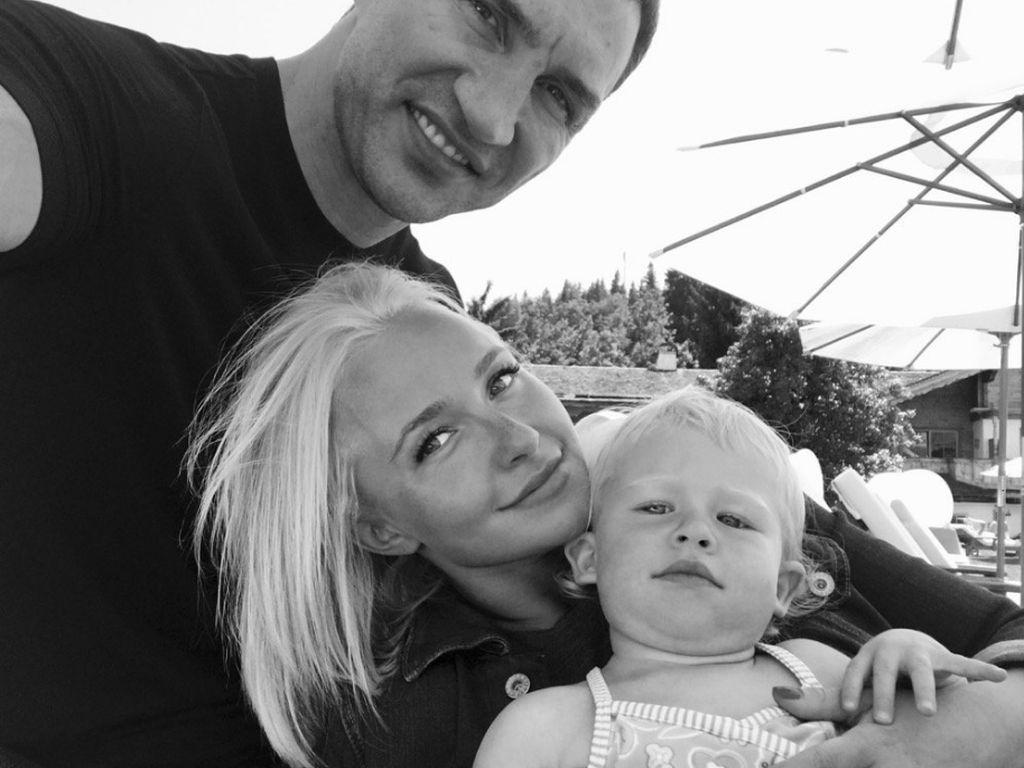 Wladimir Klitschko, Hayden Panettiere und Töchterchen Kaya