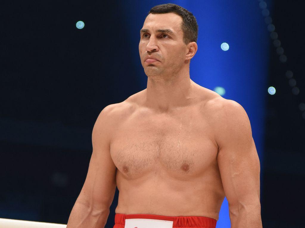 Wladimir Klitschko im Boxring