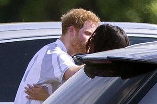 Prinz Harry und Meghan Markle beim Turnier in Ascot