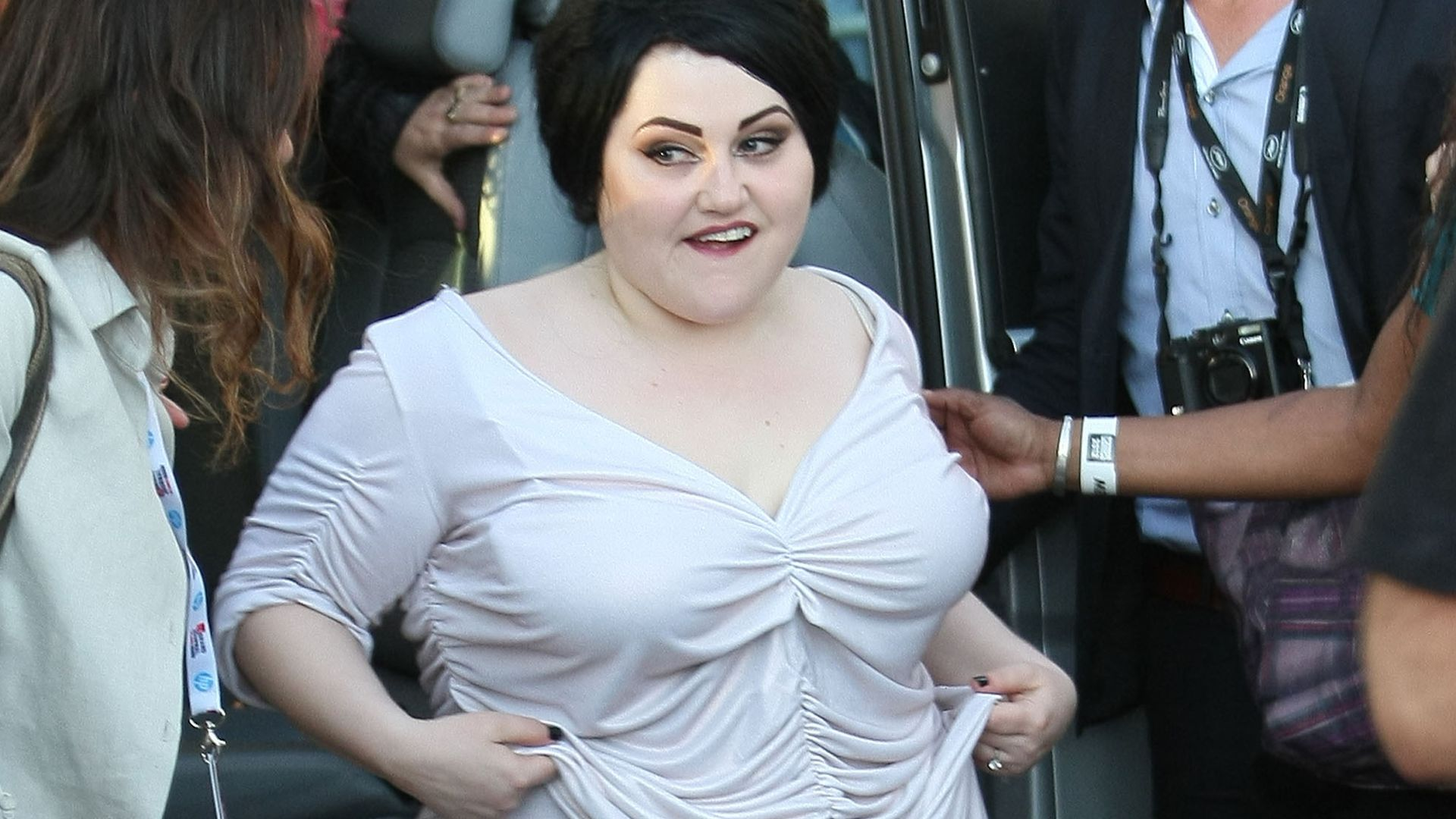 Partyluder ade! Beth Ditto ist jetzt Couch-Potato  Promiflash.de