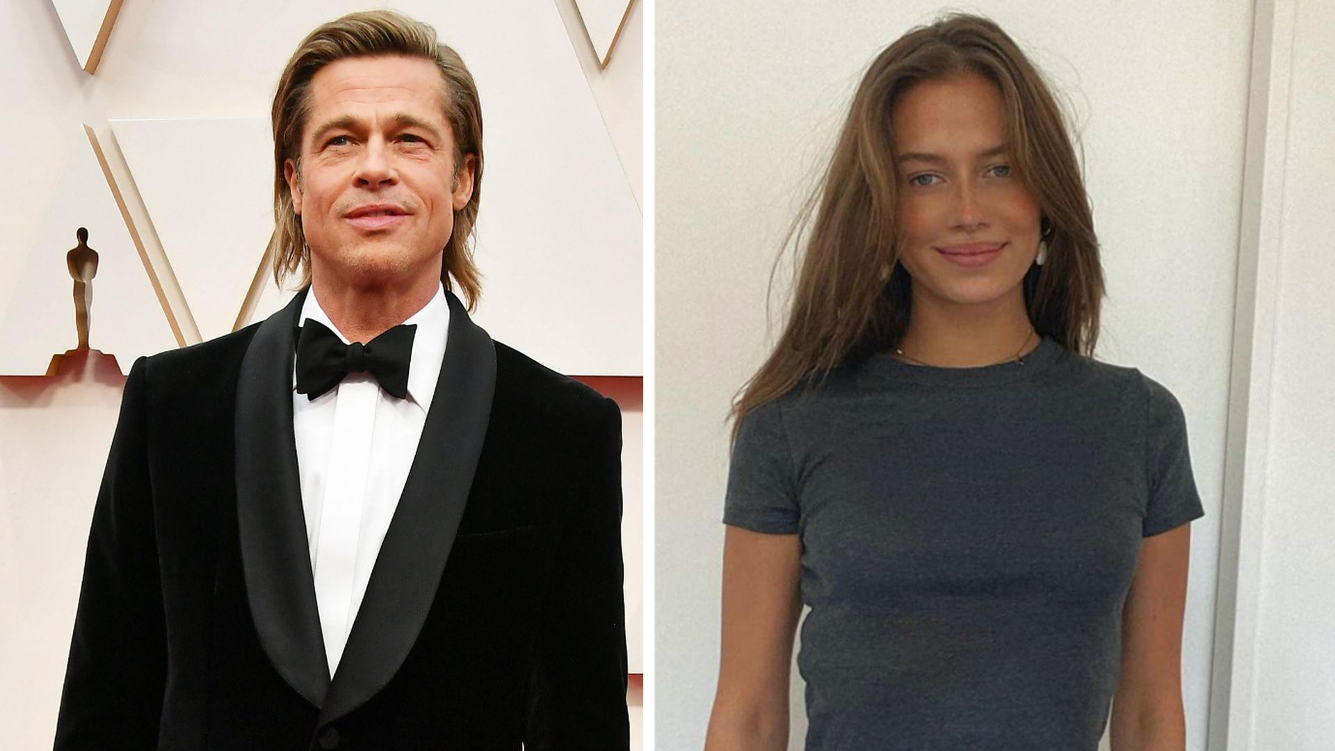 Ist Brad Pitts Angebliche Neue Flamme Etwa Noch Verheiratet