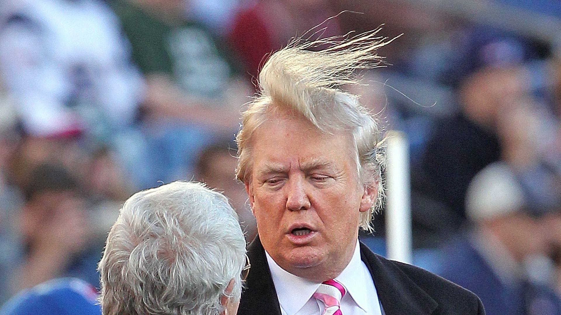 Whistleblower Wind Enttarnt Donald Trumps Dunnes Haarkostum