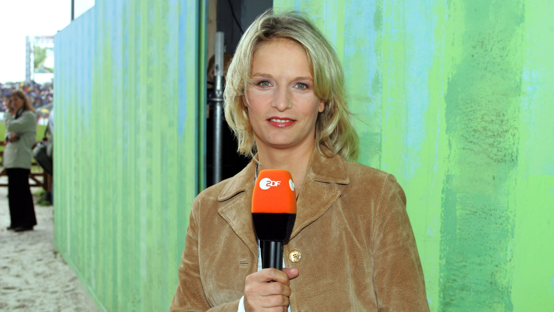 Sportreporterin Zdf