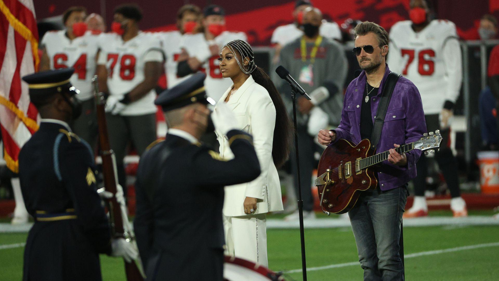 Nationalhymne Super Bowl 2021