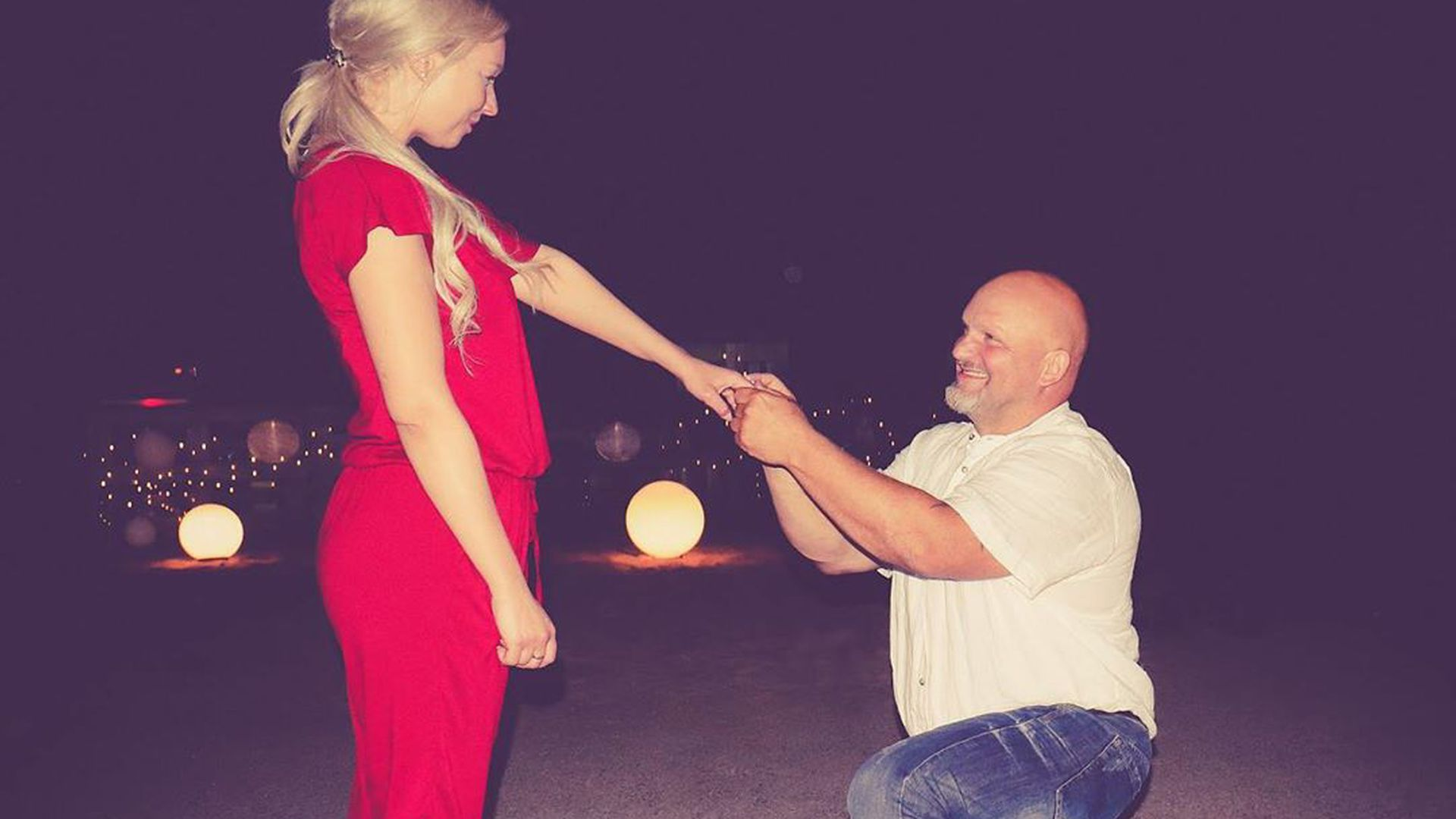 Berlin Tag Nacht Antrag Peggy Joe Heiraten Wieder Promiflash De