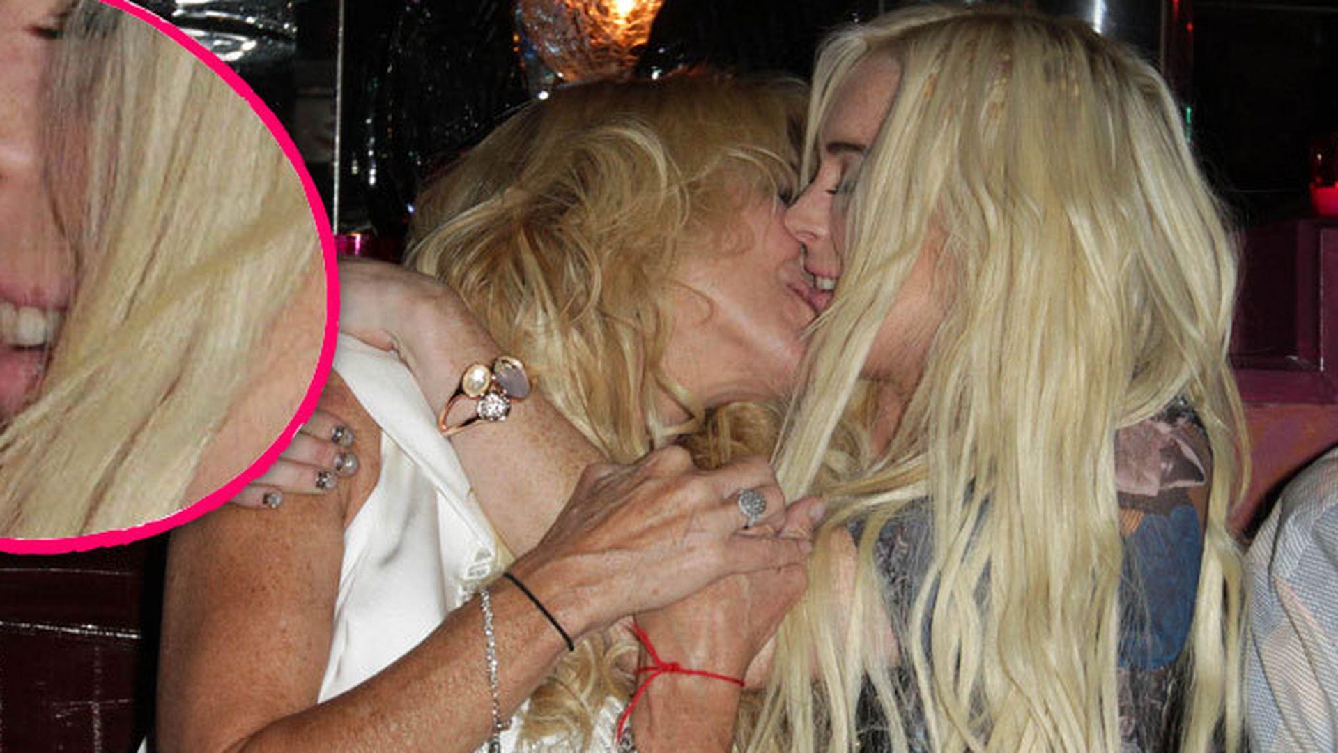 Lindsay Lohan unzensiert Gagaweb