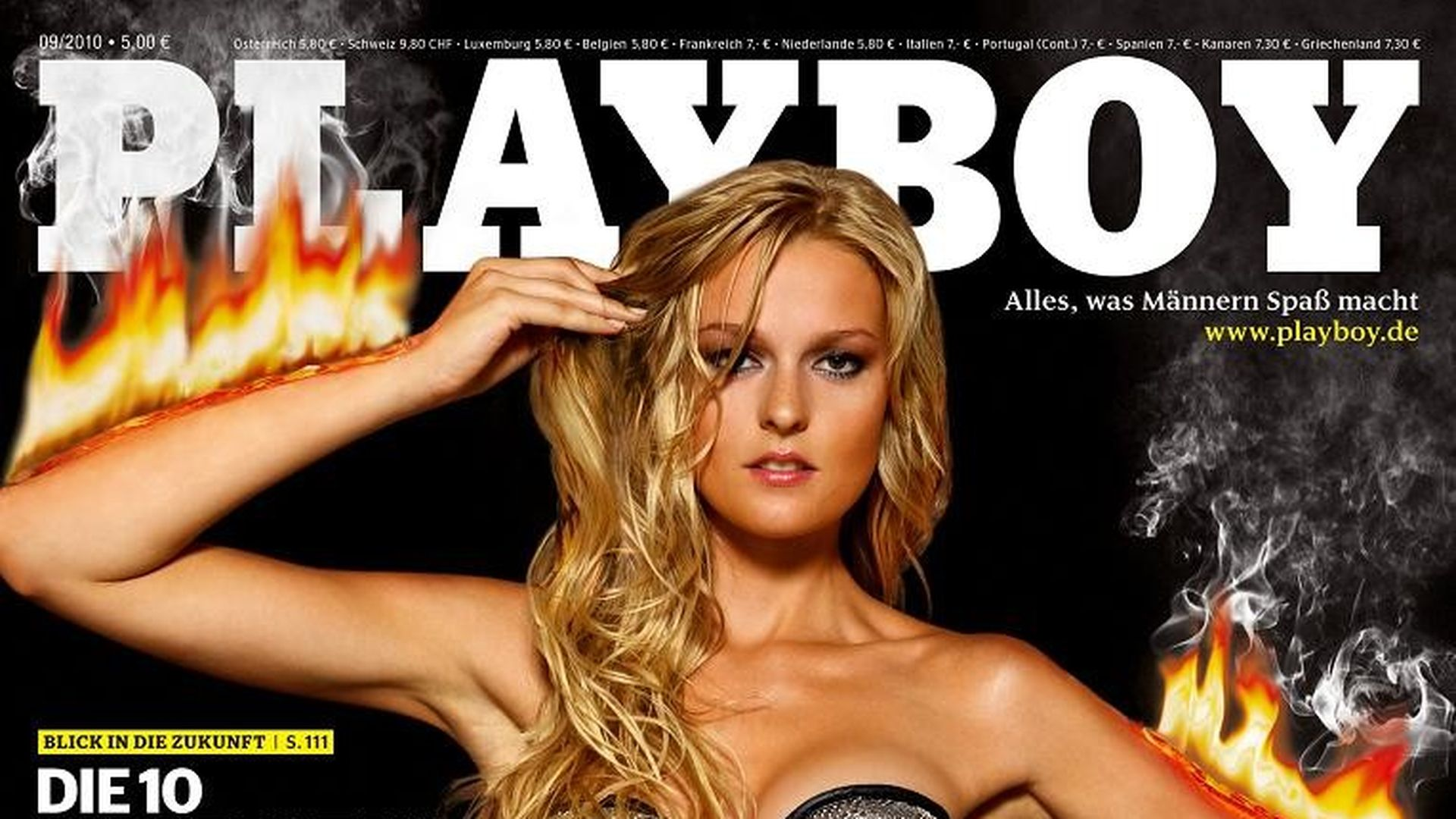 GNTM-Stuntfrau Miriam total heiß im Playboy | Promiflash.de