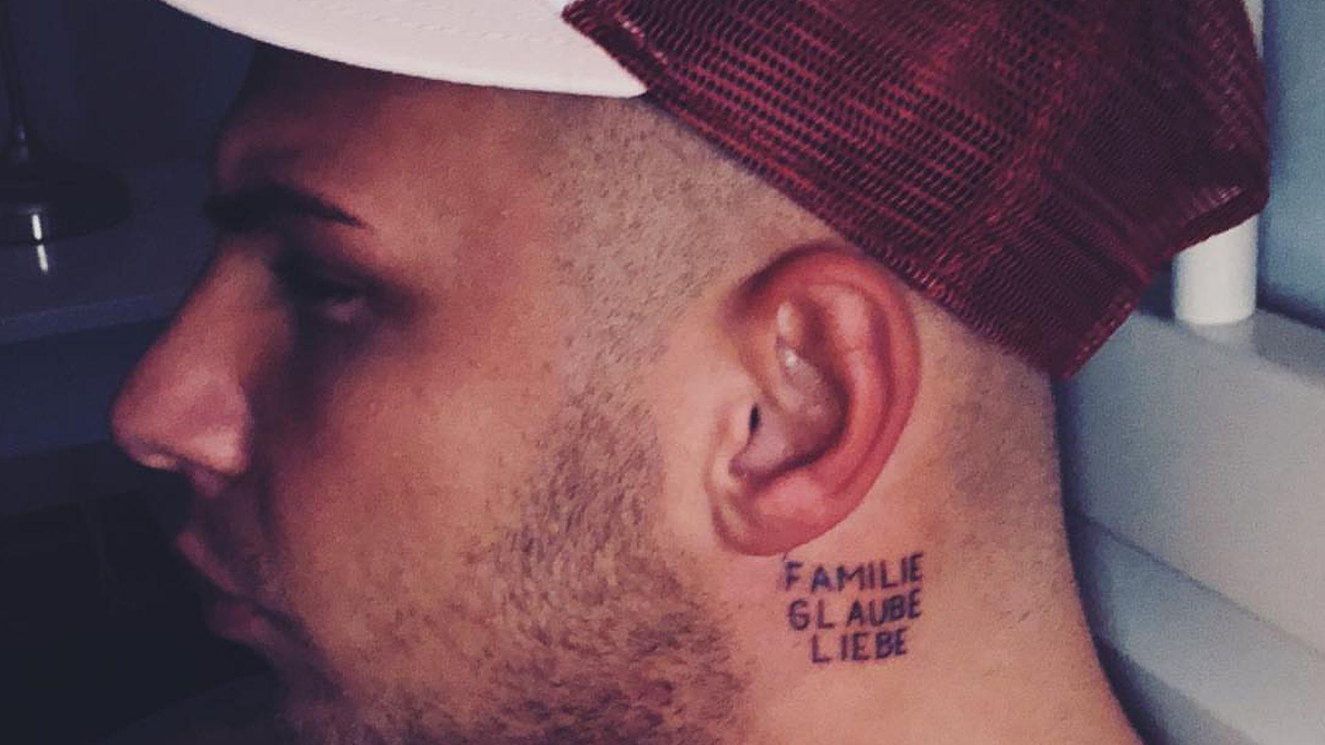 Nach Fan-Kritik: Pietro rechtfertigt sich für neues Tattoo