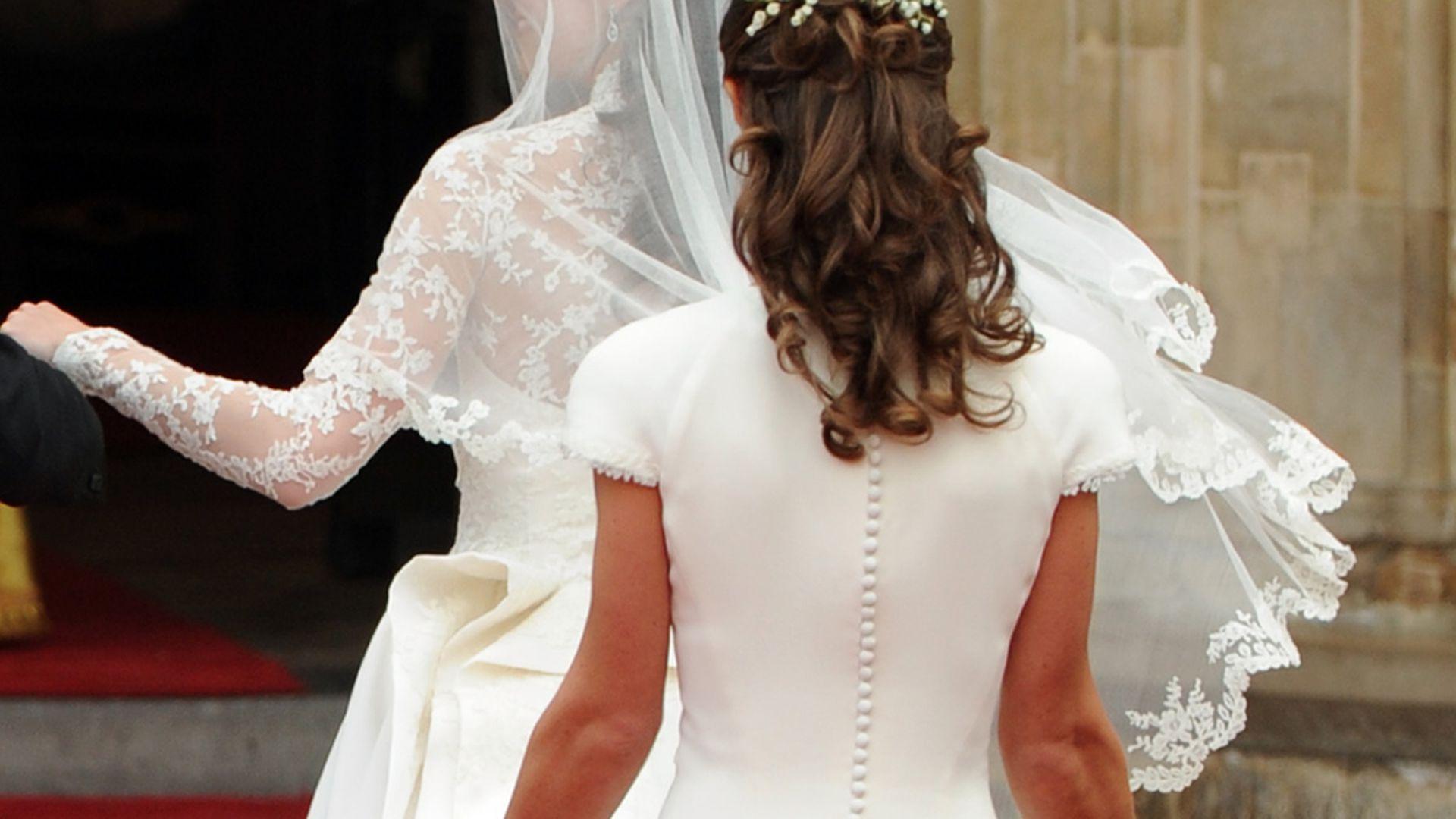 Wo Ist Der Pippa Po Brautkleid Versteckte Hübsche Kehrseite