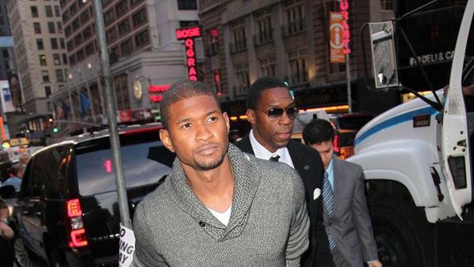 Usher Reicht Scheidung Ein