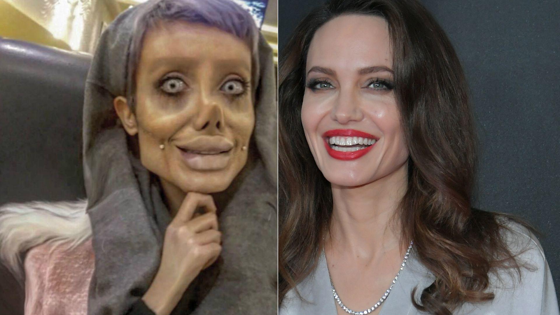 Sahar Tabar Pics >> Alles nur ein Fake! Die Wahrheit über Angelina Jolie-Double | Promiflash.de