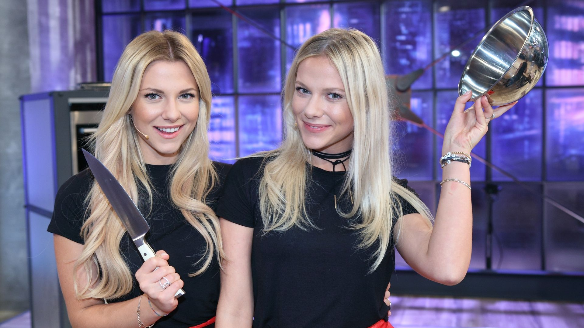 Valentina & Cheyenne Pahde: Zwillings-Battle beim Henssler