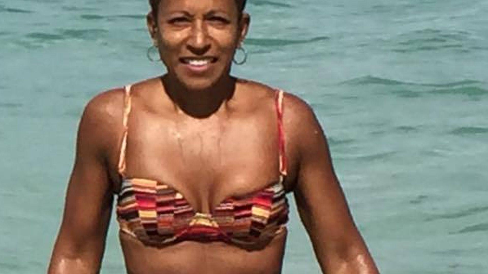 Bikini ihr sein in der Mutter gesehen