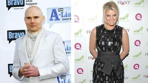 Jessica Simpson datet Billy Corgan