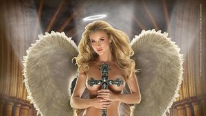 Joanna Krupa nackt für PETA