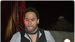 Lenny Kravitz gibt denTrauzeugen!
