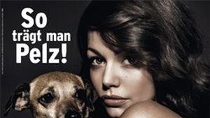 Cosma Shiva Hagen zog sich für PETA aus