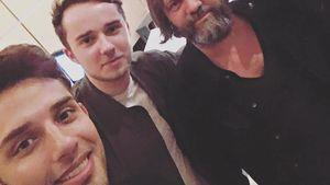 Amir Yarahi, Julian Hannes und Aaron Troschke (re.) im Synchronsprecher-Studio