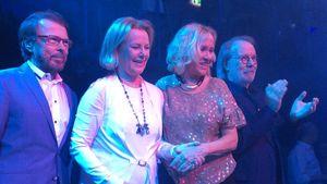 ABBA-Comeback: Wiedervereinigung für einen Abend