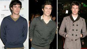Adam Brody in drei unterschiedlichen Outfits