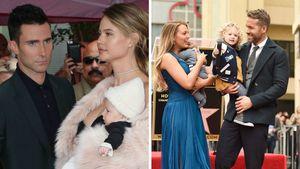 Adam Levine und Ryan Reynolds mit ihren Familien