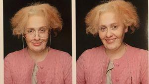 Adele als alte Oma auf ihrem Instagram-Account