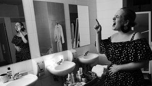 Adele vor ihrem Gig in Sydney