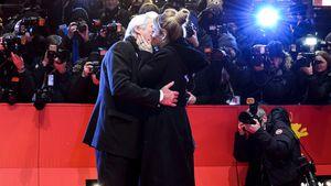 Richard Gere und Alejandra Silva bei der Berlinale 2017