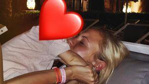 Megaselten: So süß kuschelt Alena Fritz mit ihrer Tochter