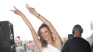 Alessandra Ambrosio: Oben sportlich, unten elegant