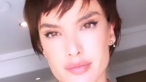 Bei Fotoshooting: Alessandra Ambrosio mit kurzen Haaren!