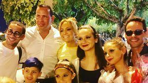 Mit Ex Marc Anthony: J.Lo & ihr Alex zeigen happy Family!