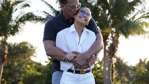 So verliebt: Jennifer Lopez und A-Rod knutschen beim Golfen