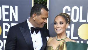 So süß tröstete A-Rod J.Lo nach Golden-Globes-Niederlage