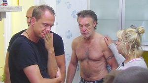 """Alexander Posth, Thorsten Legat, René und Maria Weller bei """"Das Sommerhaus der Stars"""""""