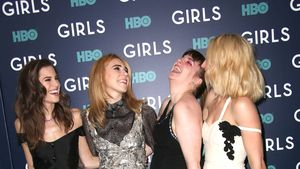 "Allison Williams, Zosia Mamet, Lena Dunham, Jermime Kirke bei der letzten ""Girls""-Premieren-Party"