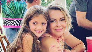 Zum siebten Geburtstag: Alyssa Milano schwärmt von Tochter